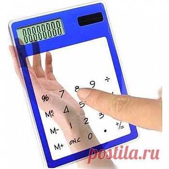 Cенсорный прозрачный калькулятор - 239,34 р.