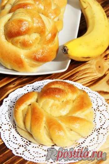 Булочки с бананом - 18 пошаговых фото в рецепте