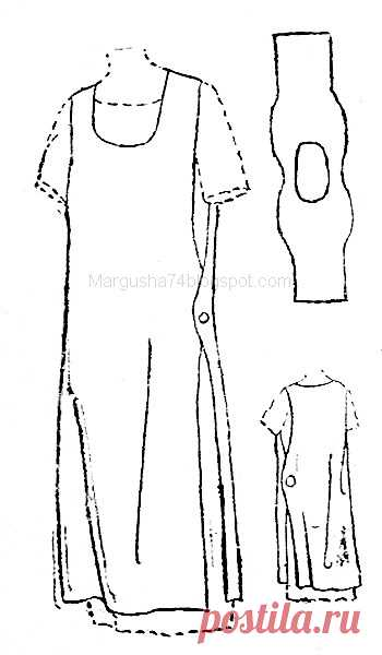Box of hobbies: Clothes in style bokho. Sketches and drawings