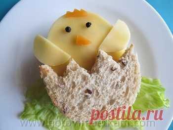 """Детский сендвич """"Цыпленок"""""""