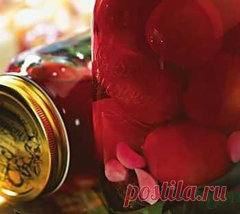 Рецепт помидорно-свекольной закуски на зиму - Помидоры на зиму . 1001 ЕДА вкусные рецепты с фото!