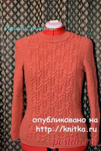 вязание для женщин спицами на Knitkaru бесплатные схемы вязания