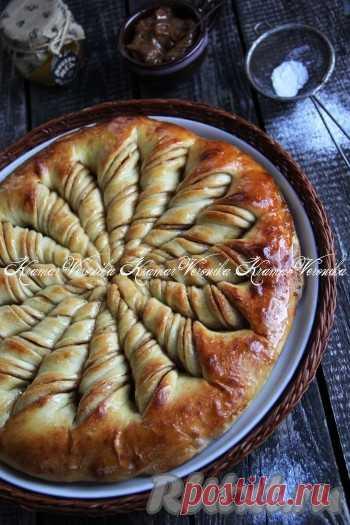 Дрожжевой пирог с корицей - 19 пошаговых фото в рецепте