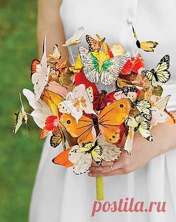 Букет из бабочек!