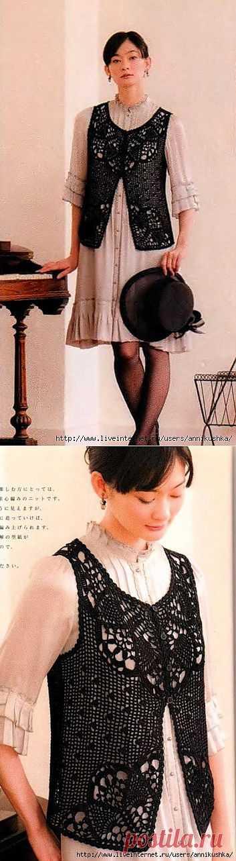 Японские жилеточки.