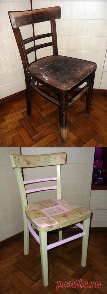 La segunda vida de la silla vieja