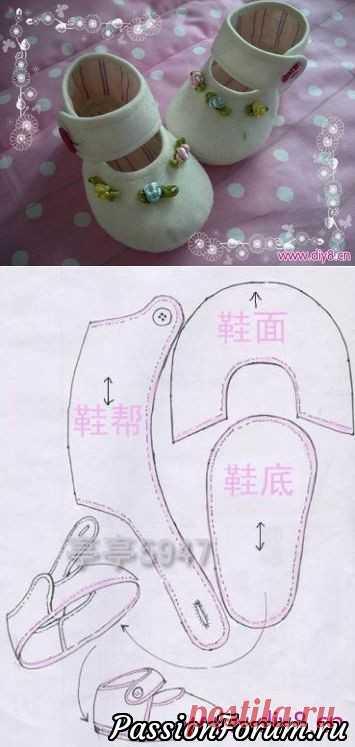 Выкройки одежды и обуви для кукол