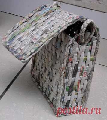 Плетеные сумки. Идеи для вдохновения.. Обсуждение на LiveInternet - Российский… | Плетение бумага газета джут 159 | Gift