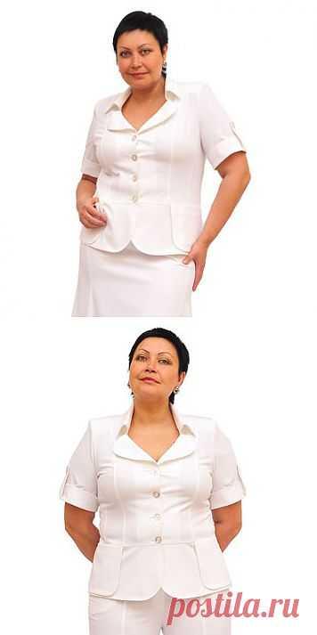 Жакет – очень удобная одежда, которую можно носить в любом возрасте.