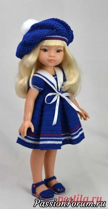 Вязанные наряды для кукол из интернета | Интересные идеи для вдохновения