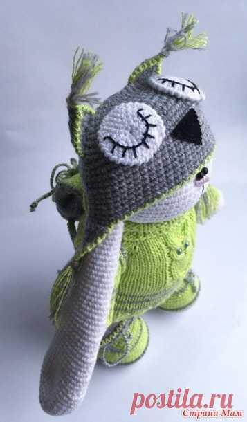 . МК по одежде для зайки тильды ( свитер, штаны, шапка, рюкзак). Дополнила. - Амигуруми - Страна Мам