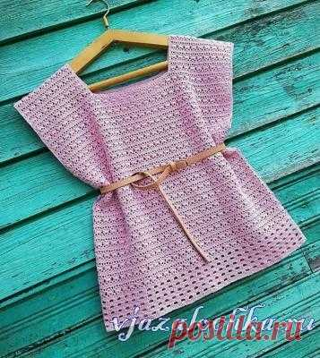 Knitted female tops and jackets, schemes of knitting – Вязалочка.ру