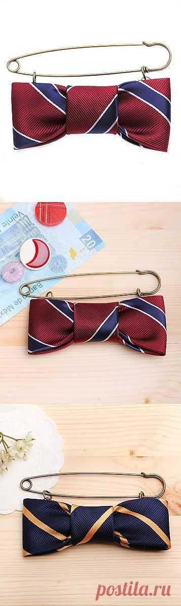 Броши из гастуков / Мужские галстуки / Модный сайт о стильной переделке одежды и интерьера