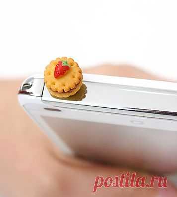 "Заглушка для телефона ""Бисквит"" - 850 P"