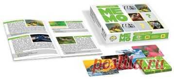 Игра МЕМО «Обитатели земли» (50 карточек)   Соберите наибольшее число парных карт с одинаковыми изображениями и познакомьтесь с удивитель...