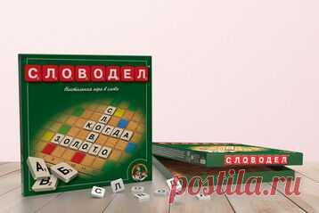 Настольная игра «Словодел»    Словоделпредставляет собой клееное картонное поле 27х27 см (256 клеток), 120 фишек с б...