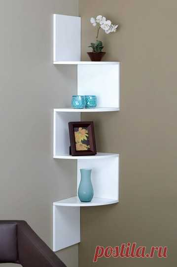 Unusual, but very capacious shelf. Idea from the USA.