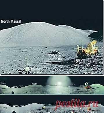 Куда исчез с Луны американский посадочный модуль? | SOFTMIXER