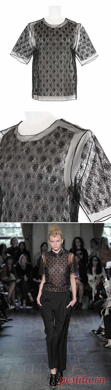 Кружевная футболка / Кружево / Модный сайт о стильной переделке одежды и интерьера