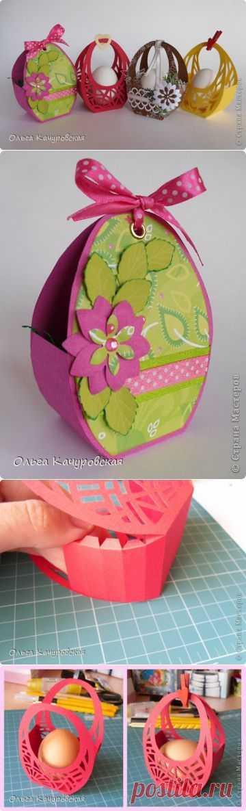 Easter baskets.