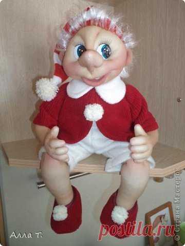 Кукла из капрона своими руками фото 987