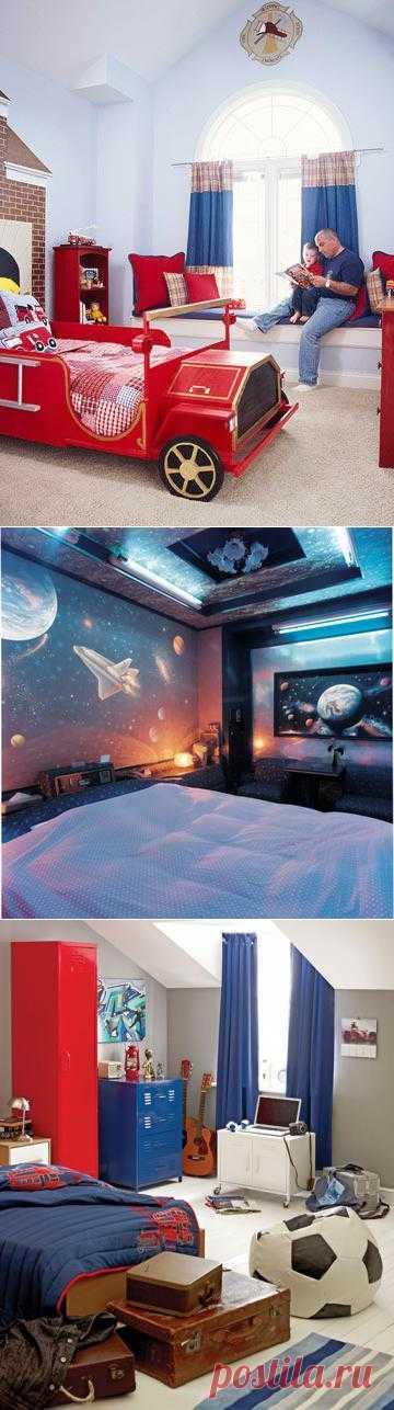 Дизайн спальни для мальчиков встречаются реже, чем дизайн для спальни для девочки.  Здесь 33 комнаты для мальчиков
