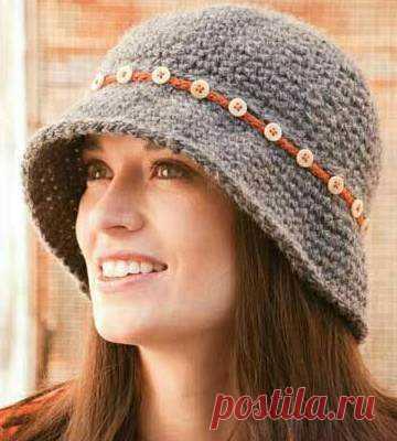 модные вязаные шапки осень зима 2017 2018 женские модели вяжем