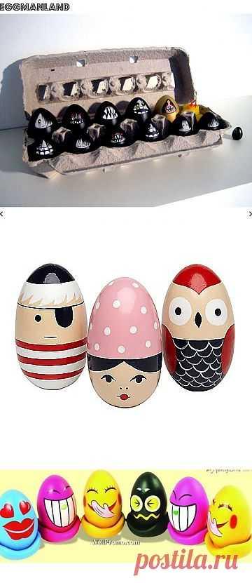Креативная окраска яиц (подборка) / Пасхальный интерьер / Модный сайт о стильной переделке одежды и интерьера