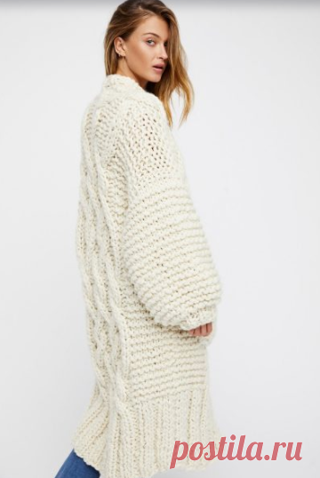 эксклюзивные вязаные кардиганы Handmade модное вязание вязание