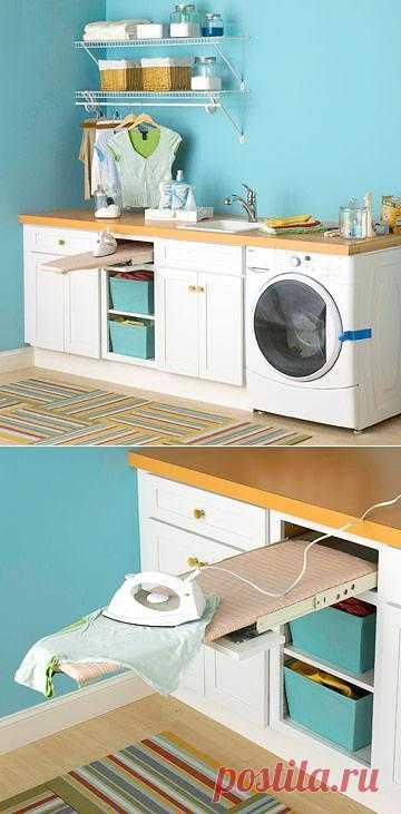 Встроенная мебель делает нашу жизнь проще.