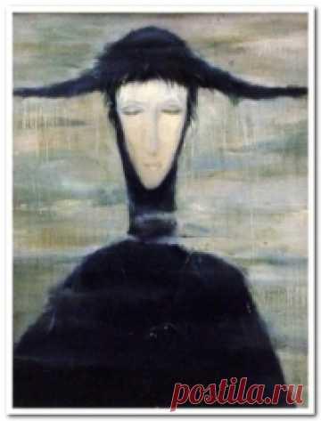 """Проклятая картина """"Женщина дождя"""""""