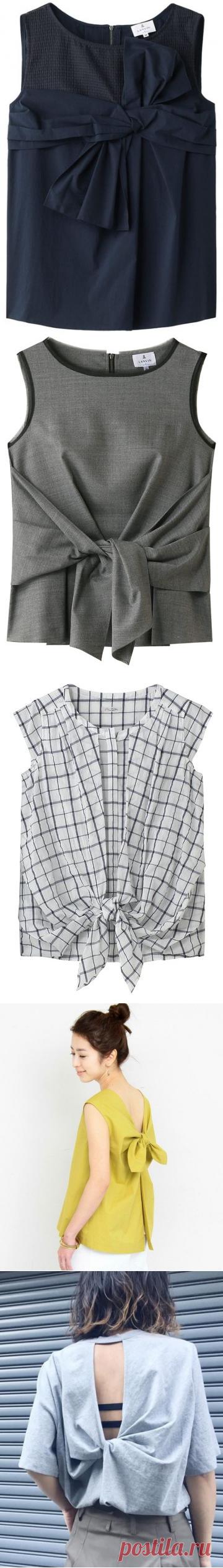 Своими руками (Творчество, Шитье, Выкройки)Интересные блузы. Идеи для вдохновения.