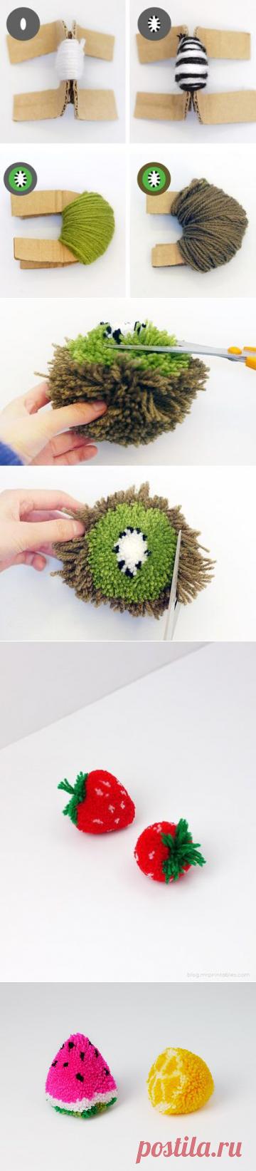 Невероятные вкусные помпоны — Сделай сам, идеи для творчества - DIY Ideas