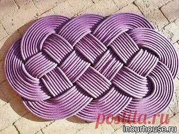Tejemos los tapices pequeños originales del cordón. Masterklass