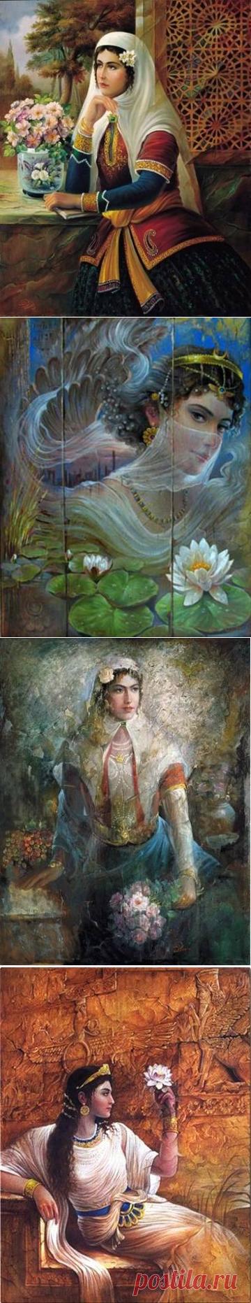 Иранский художник Hojat Shakiba.3 часть.