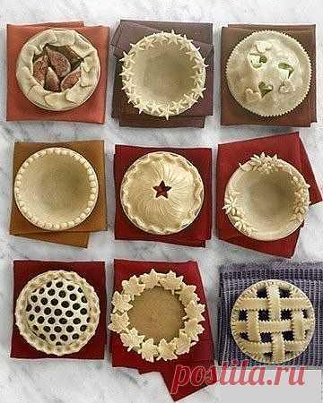 Как красиво оформить пирог. О
