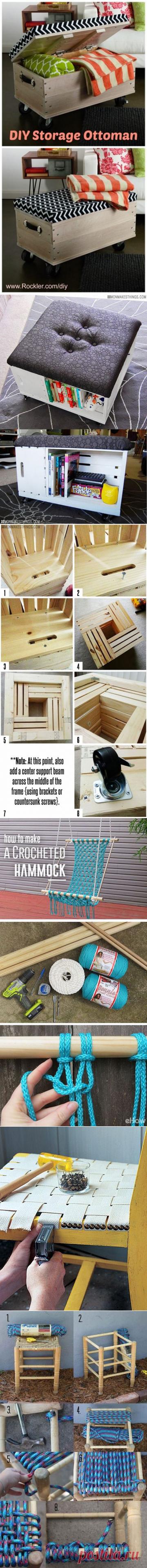 Сделай сам: 20+ замечательных идей для интерьера вашего дома