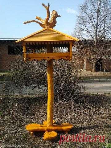 Креативная кормушка для птиц | Wood Brothers