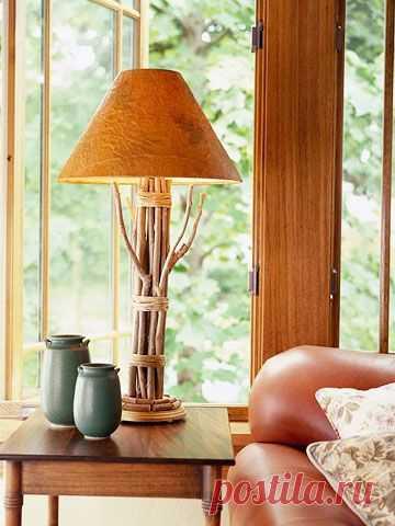 Lámparas hechas de palos (selección, 2Diy) / Iluminación / SECOND STREET