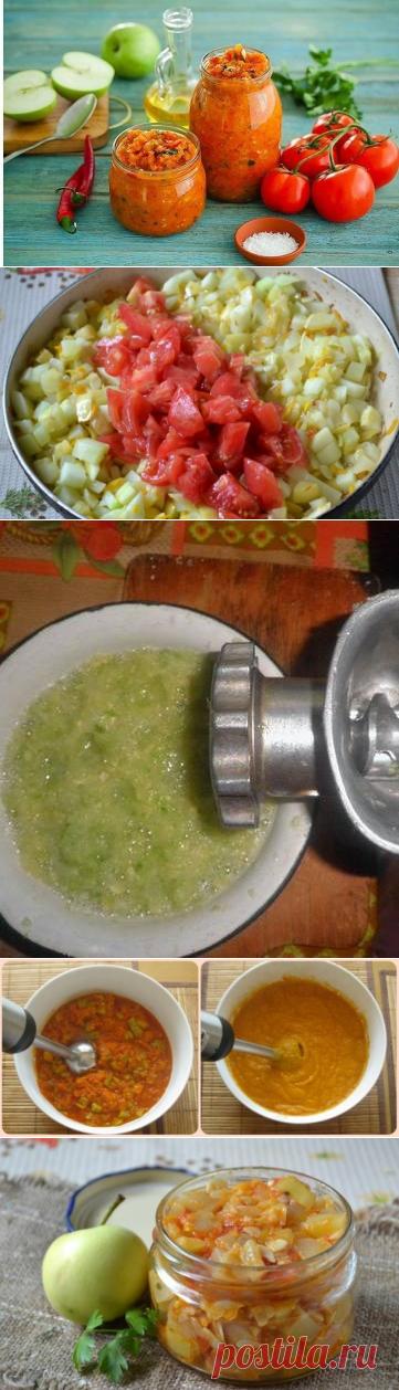 Кабачковая икра с яблоками на зиму: рецепты с фото