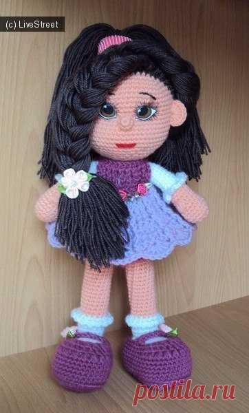 Авторская кукла (с описанием) | Вязаные игрушки | Постила