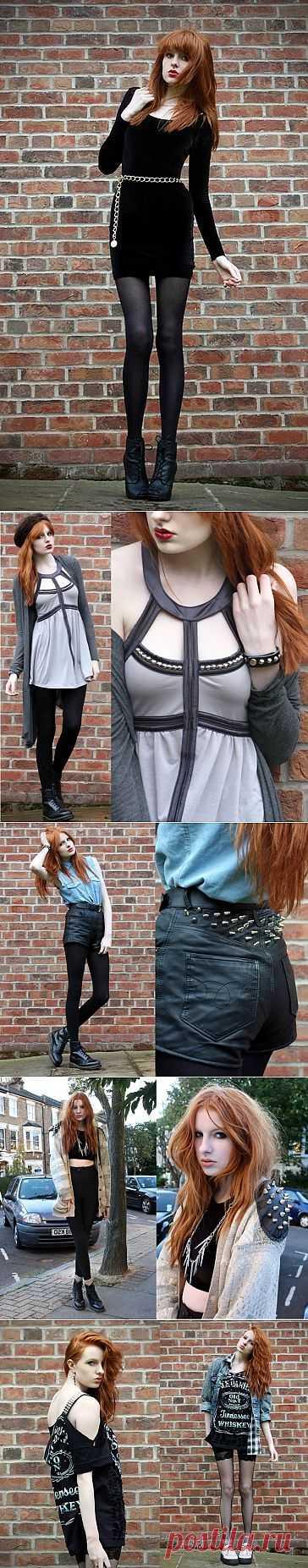 Рыжие атакуют №1 Olivia Harrison (трафик) / Блоггеры / Модный сайт о стильной переделке одежды и интерьера