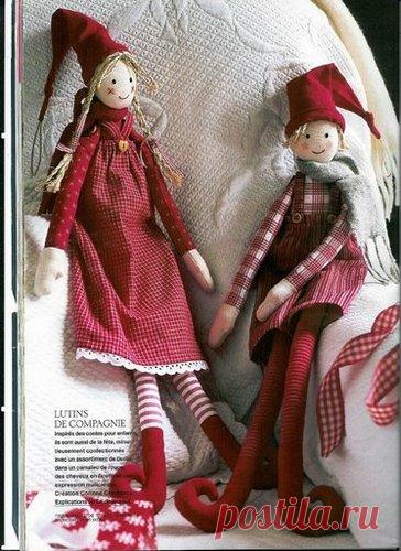 Текстильные куклы - Эльфы, Гномы и т.д. Выкройки и идеи для шитья! | Юлия Жданова | Яндекс Дзен