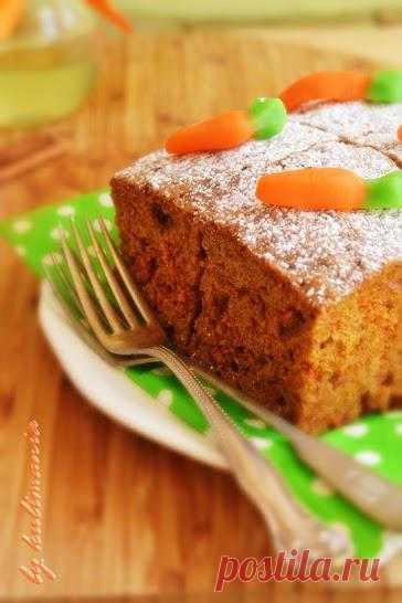 Оранжевая неделя: Морковный пирог