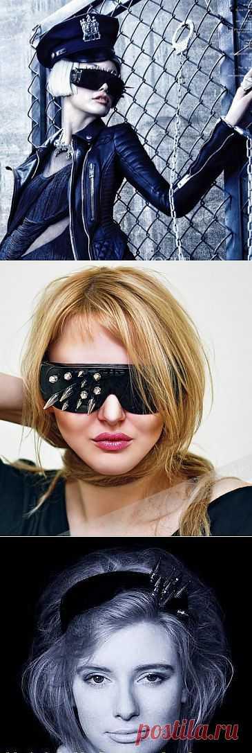 Очки + ободок + шипы / Декор очков / Модный сайт о стильной переделке одежды и интерьера