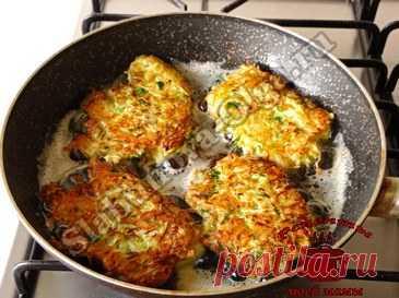Оладьи из капусты с сыром. Рецепт. Фото
