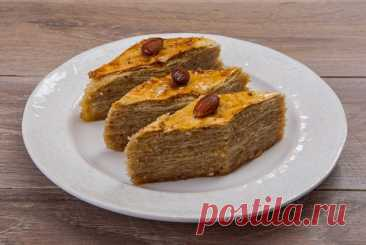 Пахлава из теста фило с миндалем рецепт – турецкая кухня: выпечка и десерты. «Еда»