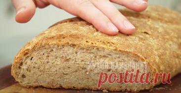 Обжарила гречку и добавила в тесто: уже и не помню, когда у меня получался хлеб вкуснее (в магазине я хлеб давно не покупаю)   Кухня наизнанку   Яндекс Дзен