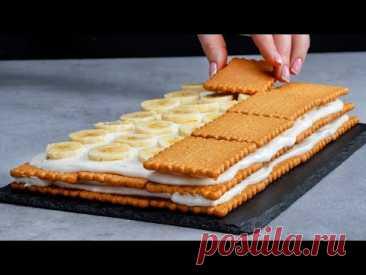 Никакой духовки и часов проведенных на кухне! Удивите всех красочным фруктовым тортом!| Appetitno.TV