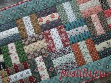 7 прекрасных лоскутных одеял ВСЕГО их 3-х полосок ткани! Разбираем дизайны   Пэчворк по-русски🧵   Яндекс Дзен
